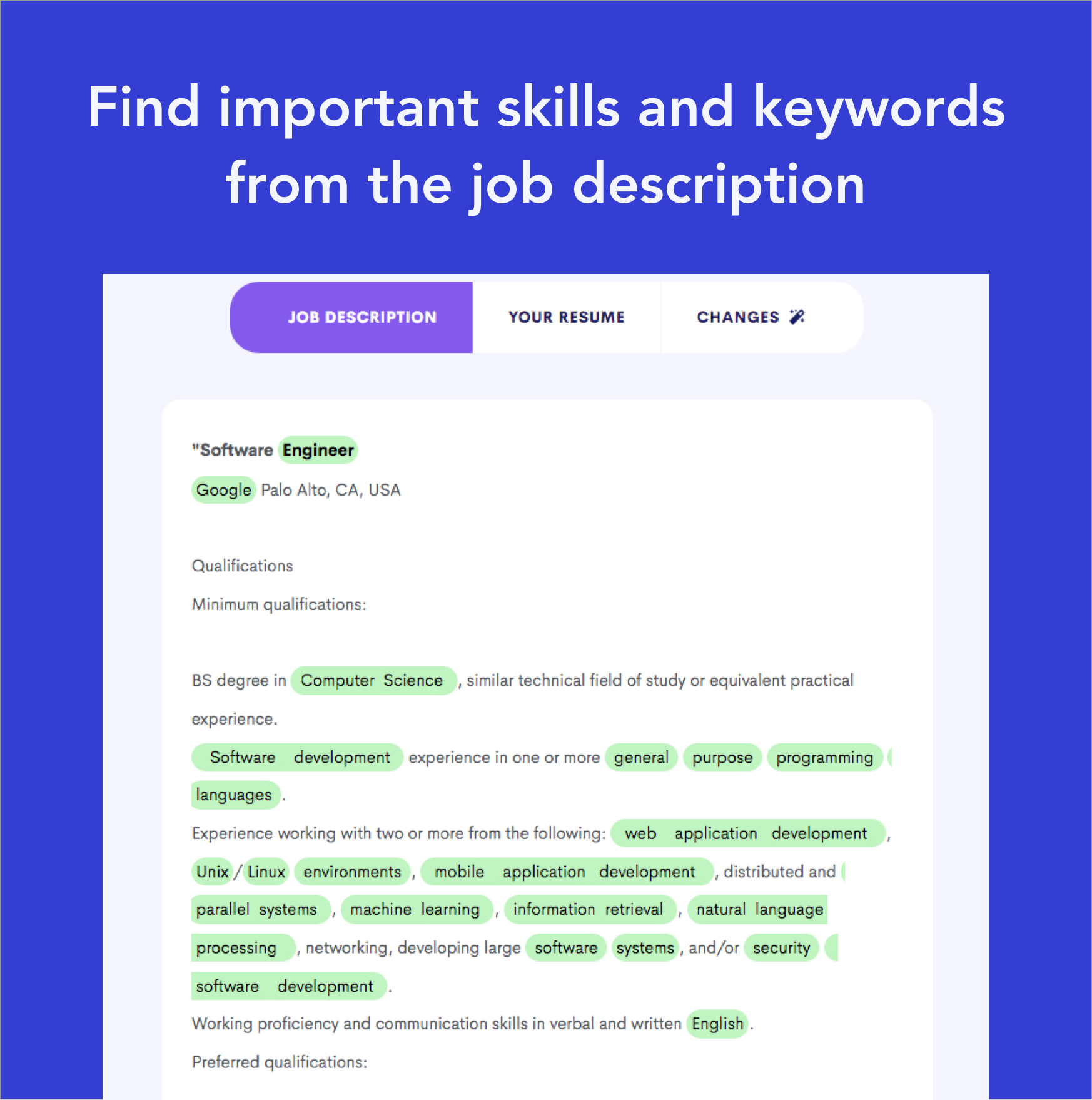 Does your resume contain the right keywords? Try the job ...