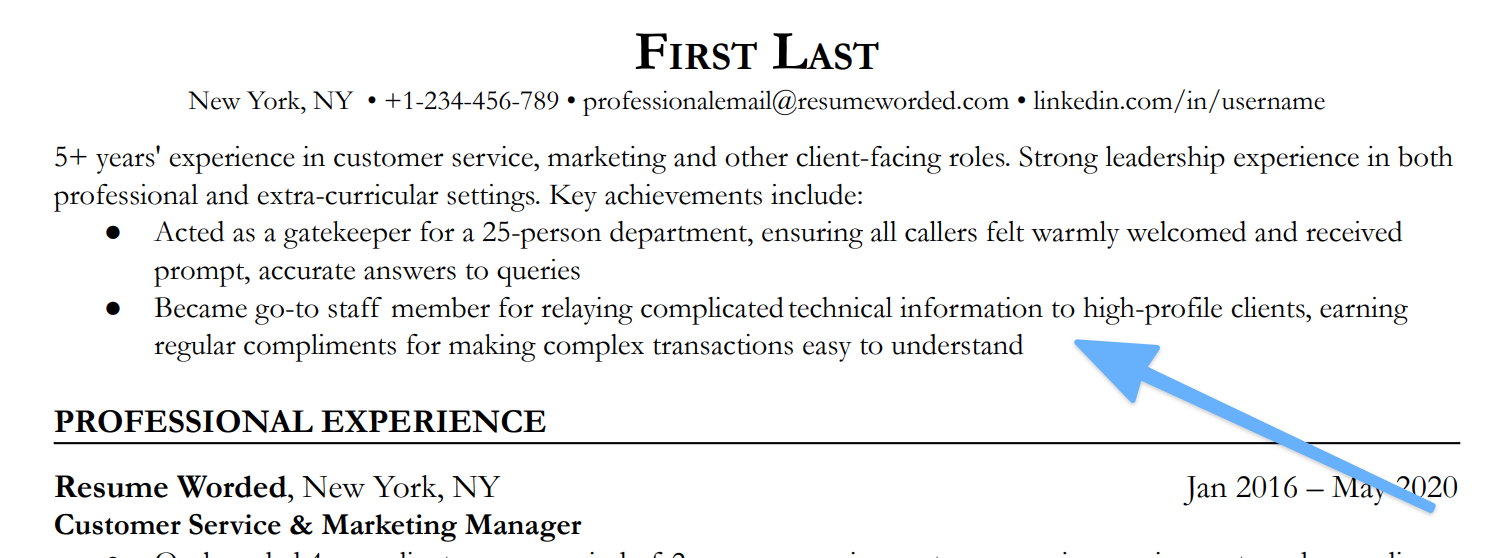 An example of a resume summary for stay at home mom resumes